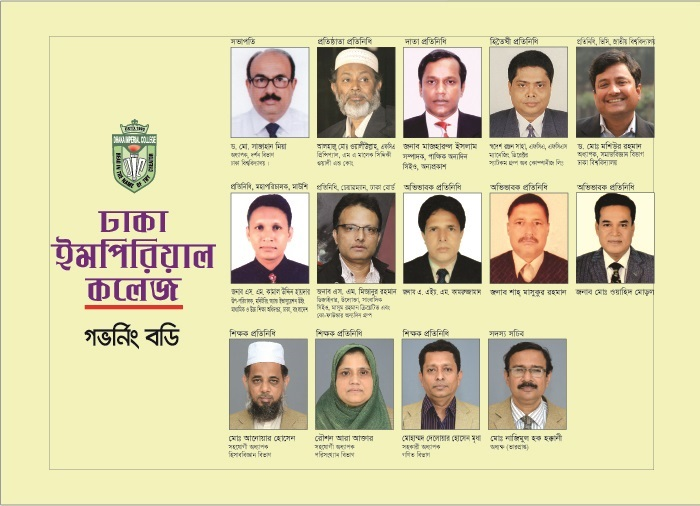 Governing Body Dhaka Imperial College